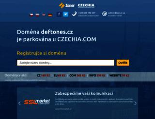 deftones.cz screenshot