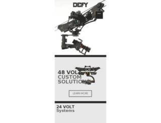 defygimbal.com screenshot