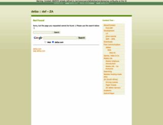 defza.com screenshot