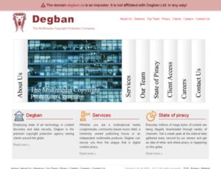 degban.com screenshot