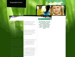 degradableplastic.webnode.com screenshot