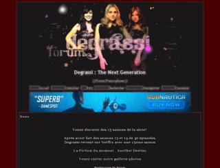 degrassi.bb-fr.com screenshot