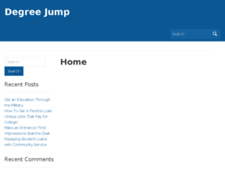 degreejump.com screenshot