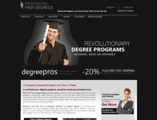 degreepros.homestead.com screenshot