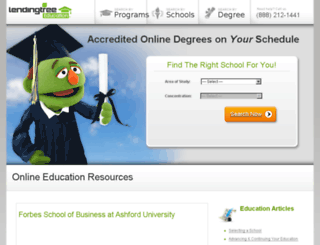 degreetree.com screenshot