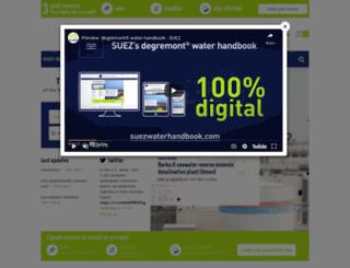 degremont.com screenshot