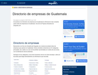 deguate.com.gt screenshot
