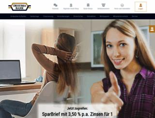 degussa-bank.de screenshot