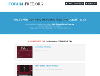 deh-foroum.forum-free.org screenshot