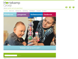 dehartekampgroep.nl screenshot
