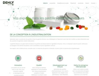 dehly.ch screenshot