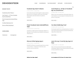 dehoeksteen.net screenshot