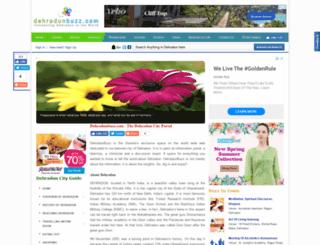 dehradunbuzz.com screenshot