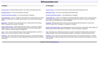 dehumanizer.com screenshot