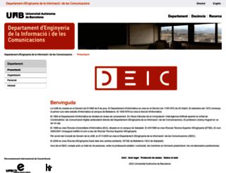 deic.uab.es screenshot