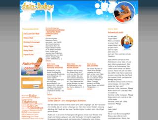dein-baby.net screenshot