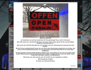 deinbikestore.de screenshot