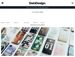 deindesign.de screenshot