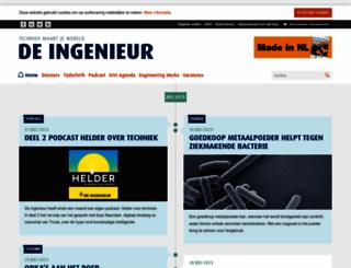 deingenieur.nl screenshot