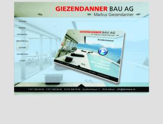 deinhaus.ch screenshot