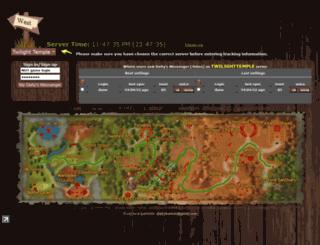 deitymessenger.com screenshot