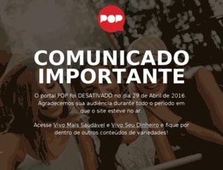 deixaqueeumanjo.pop.com.br screenshot