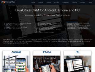 dejaoffice.com screenshot