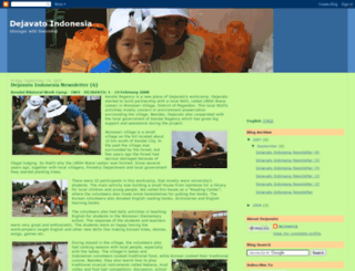 dejavato-indonesia.blogspot.com screenshot