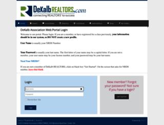dekalbportal.ramcoams.net screenshot