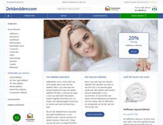 dekbedden.com screenshot