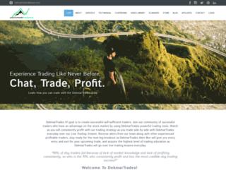 dekmartrades.com screenshot
