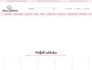 deko-welten.de screenshot