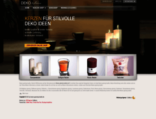 dekokollektion.six-media.de screenshot