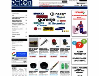 dekom.co.rs screenshot