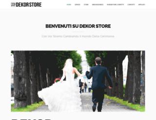 dekor-store.com screenshot