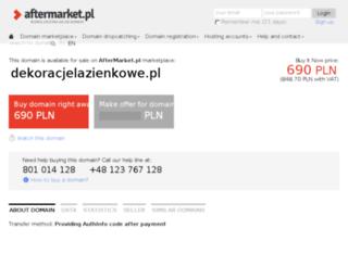 dekoracjelazienkowe.pl screenshot