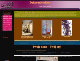 dekoracjeokien.pl screenshot