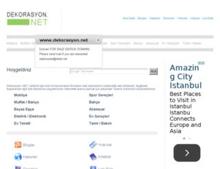 dekorasyon.net screenshot