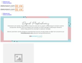 dekorazon.com screenshot