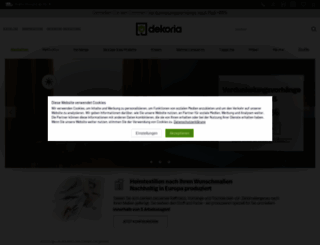 dekoria.de screenshot