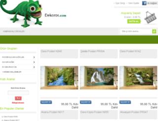 dekoros.myideasoft.com screenshot