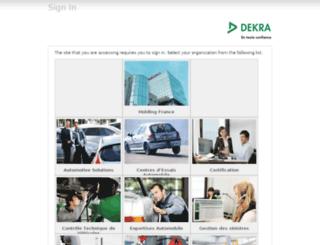 dekra-expert.fr screenshot