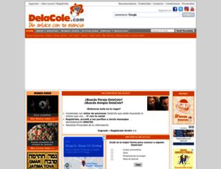 delacole.com screenshot