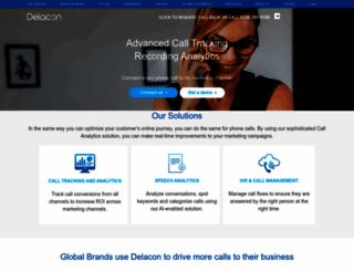 delacon.co.uk screenshot