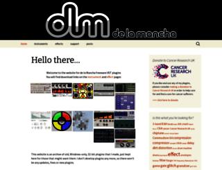 delamanchavst.wordpress.com screenshot