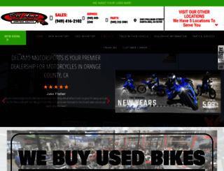 delamomotorsports-costamesa.com screenshot
