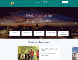 deland.org screenshot