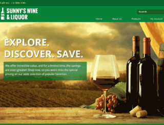 delandliquorstore.com screenshot