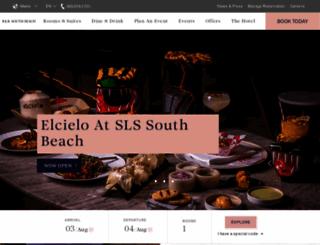 delano-hotel.com screenshot