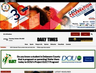 delawarecountydailytimes.com screenshot